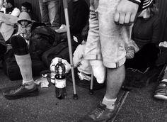 """""""Der lange Marsch ist zu Ende #marchofhope #refugeeswelcome """""""
