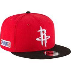 Men s New Era Red Black Houston Rockets 2018 NBA Playoffs Two-Tone 9FIFTY  Snapback 40dc7c6e3ec