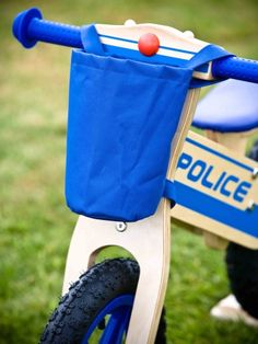 New bike bag for the Police Balance Bike
