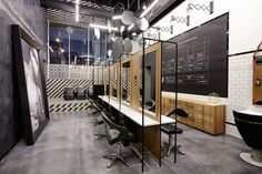 R hair salon by Creneau International, Genk – Belgium