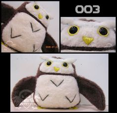 Pigmy Owl Plush (Pattern & Tutorial) ∙ How To by jwodesigns on Cut Out + Keep
