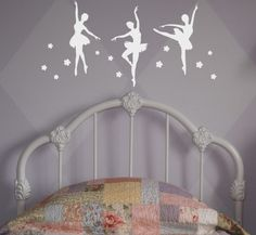 Ballerina Wall Decal, Ballerina Wall Stickers