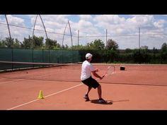 Ball machine: footwork and stamina (great tennis drills) - YouTube