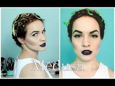 Medusa Halloween Hair Tutorial