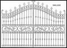 Gates: Custom Made Gates In Any Shape Or Size - solid wood and wrought iron gates. Custom driveway gates, garden and estate gates, and Steel Gate Design, Front Gate Design, House Gate Design, Door Gate Design, Wrought Iron Driveway Gates, Wrought Iron Stairs, Wrought Iron Gate Designs, Window Grill Design, Grades