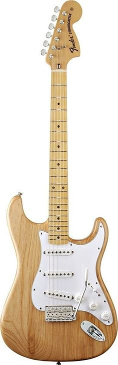 '70s Fender Tone Brought to Life For the guitarist looking for truly authentic, pure, roaring vintage Fender tone, look no further than the Classic Series '70s Stratocaster. This tone comes straight f