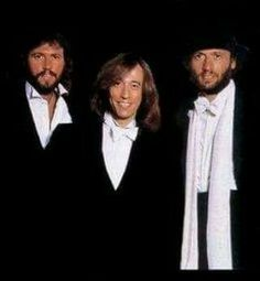 The Gibb Brothers are some of the best looking men that were ever put on the planet.