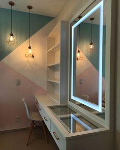 Home Design Decor, House Design, Home Decor, Wardrobe Design, Dream Rooms, Home Office, Sweet Home, Bedroom Decor, New Homes