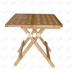 Wooden Folding Table Plan - The Best Image Search