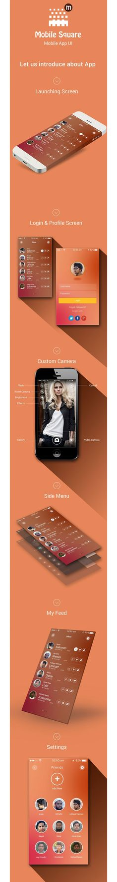 Social apps Design