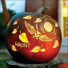 One of these years I'm actually going to go all out and carve these! Halloween Pumpkin Carving Owl Templates.