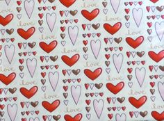 Cotton Fabric, Home Decor, Quilt, Valentine,  Sending My Love by Henry Glass , Fast Shipping https://www.etsy.com/shop/suesfabricnsupplies