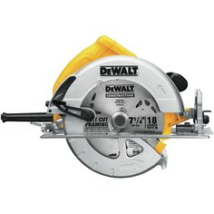 The DWE575 7-1/4 inch Lightweight Circular Saw is among the lightest saws in its class at only 8.8 lbs. 15 Amp motor is powerful enough for the toughest applications. Bevel capacity of 57° and 2-9/16 inch depth of cut capacity provide versatility. Best Table Saw, Table Saw Stand, A Table, Compact Circular Saw, Best Circular Saw, Steel Shoes, Diy Sewing Table, Jigsaw Table, Scroll Saw Patterns Free