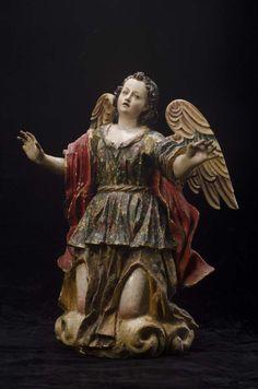 Escultura de San Miguel Arcangel #MuseoMarc