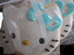 hello kitty cookie for a baby boy shower