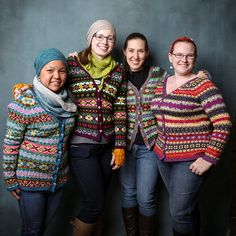 Ravelry: Project Gallery for Hedgerow pattern by Ann Kingstone Fair Isle Knitting Patterns, Fair Isle Pattern, Knit Patterns, Sweater Patterns, Easy Crochet Projects, Knitting Projects, Knitting Yarn, Hand Knitting, Ravelry