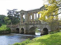 The Palladian bridge at Wilton House.