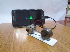 Free Energy Charger for Mobile Phone? - Gerador de Energia Infinita Carregando Celular? - YouTube
