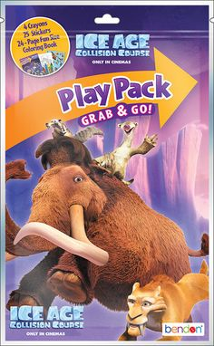 ice age collision course playpack Case of 96