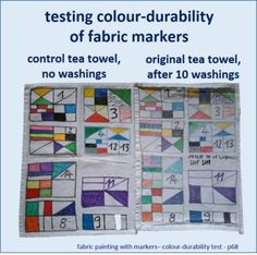 fabric-painting-with-markers-colour-durability-test-on-2-tea-towels