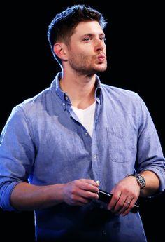 Kisses from Rome <3 #JibCon14 #Jensen