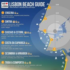 Life's a Lisbon Beach The close to the city guide with infographic