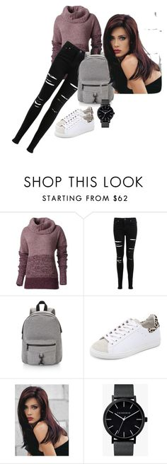 """""""cool outfit"""" by stloukalovanela ❤ liked on Polyvore featuring мода, Royal Robbins, Miss Selfridge, Rebecca Minkoff, IRO, Revlon и The Horse"""