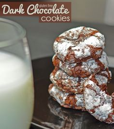 Gluten Free Dark Chocolate Cookies!!!!  Just look at this pictures on this blog!!!!!!  Gotta save this for later!
