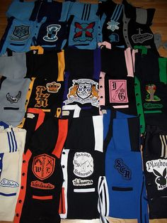 sweaters from several Chicago street gangs.