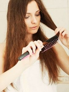10 Tips For Frizzy Hair | While frizz isn't completely avoidable, there are many things you can do to help prevent and control everyday frizz.  Read More of This Article Here: http://www.natural-holistic-health.com/10-tips-for-frizzy-hair/