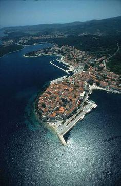 Korcula Town on Korcula Island, Croatia