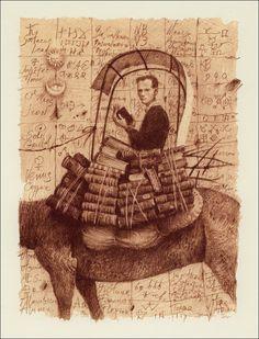 Vladislav Erko illustrations. Paulo Coelho. The Alchemist