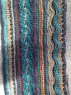 - Scarf Tunisian crochet
