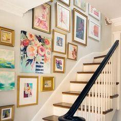 Gallery Wall - Blumenbild
