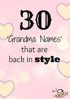 30 Old Time 39 Grandma 39 Names That Are Making girl names girl names 19 Girl Names elegant Girl Names rare girl names vintage Girl Names with meaning Old Baby Names Girl, Old Lady Names, Baby Girl Names Unique, Boy Names, Old Names For Girls, Boyish Girl Names, Weird Girl Names, Double Girl Names, Timeless Baby Names