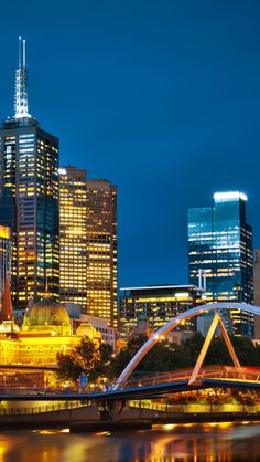 Melbourne Night Australia