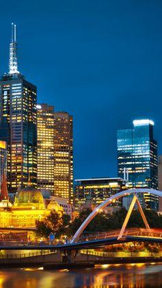 Melbourne Night Australia