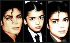 I have to say of his 3 kids, Blanket looks the most like him though Paris shares some of the same facial featuers as her dad.