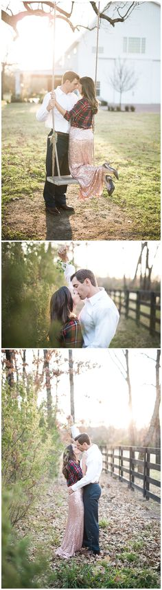 Dallas, TX Photographer - Adria Lea Photography - Engagement Photography - The White Sparrow Barn