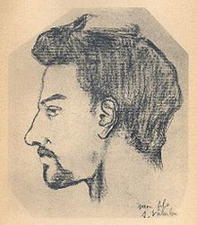 Portrait of Maurice Utrillo by his mother, Suzanne Valadon