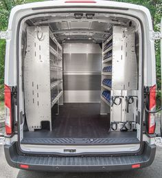 Commercial Van Shelving, Equipment and Interiors | Van Ladder Racks http://advantageoutfitters.com