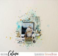 Page de scrap/DT Lime Citron - celmascrap