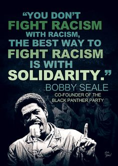 "Robert George ""Bobby"" Seale[1] (born October 22, 1936) is an American political activist. He is known for co-founding the Black Panther Party with Huey Newton."