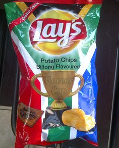 Limited edition Lay's biltong flavour chips | South Africa
