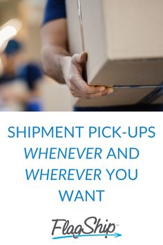 Free shipment pickup at your door, no more dropping your shipment off at a depot, and no waiting in line! Your shipment pick-ups can automatically be scheduled through the FlagShip online shipping system. Online Shipping, Schedule, Waiting, Canada, Learning, Free, Timeline, Studying, Teaching