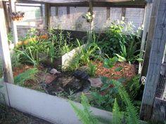 Good idea for outdoor enclosure