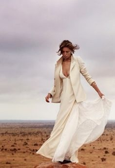 Daria Werbowy for Maiyet Fall 2012 campaign (outtakes)