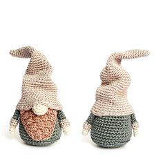 Christmas GNOME (Small) Crochet Pattern made by RoKiKi via DaWanda.com