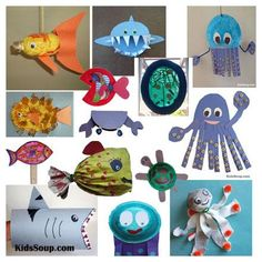 Under the Sea and Ocean Activities, Crafts, and Games for Preschool and Kindergarten | KidsSoup