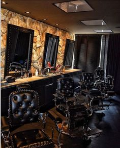 56a36b3a3 Cadeira De Barbeiro, Ideias Para Barbearias, Projeto De Barbearia,  Decoração Barbearia, Estúdio